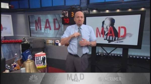 Cramer: Next week bizarre