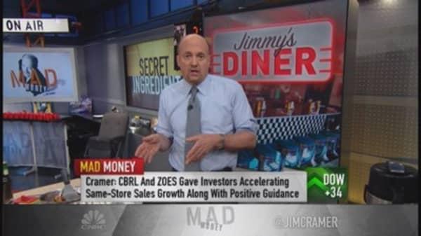 Cramer serves up a deep dish on restaurant stocks
