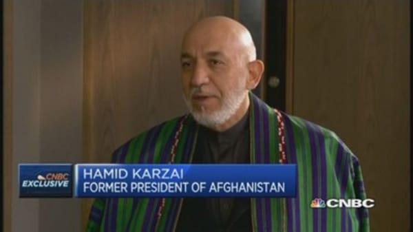 Ex-Afghan President: Resolve Yemen through talks