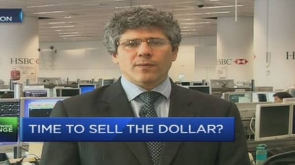 Time to sell the US dollar?