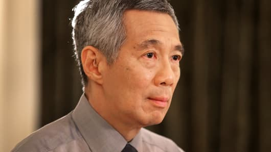 Prime Minister Lee Hsien Loong of Singapore