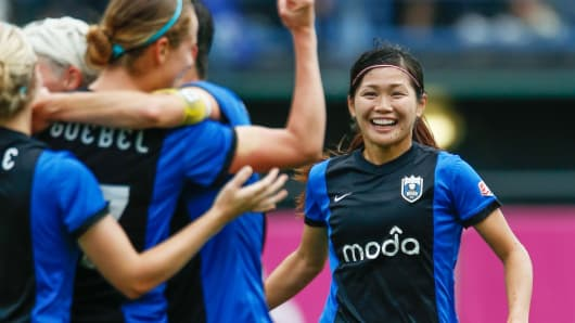 Seattle Reign soccer
