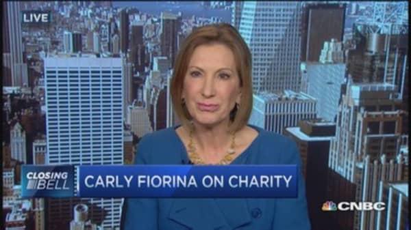 Carly Fiorina in 2016?