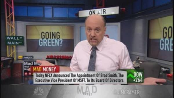Cramer: Refreshing to see bullish move