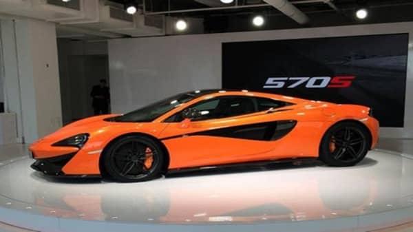 Sneak peek at McLaren's 570S Coupe