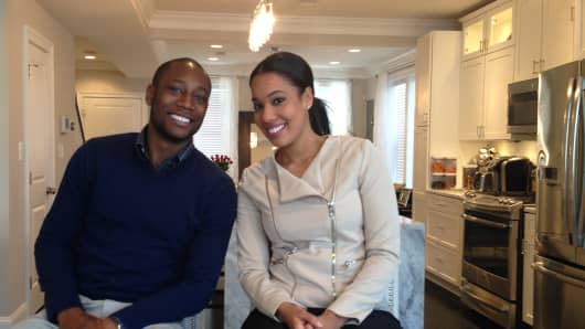 Justin Thornton and Jennifer Castillo are finding high prices, multiple bidders and little inventory in their search for a Washington, DC home.