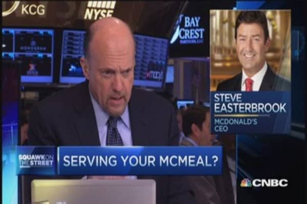 Cramer: MCD new chief is 'impressive'