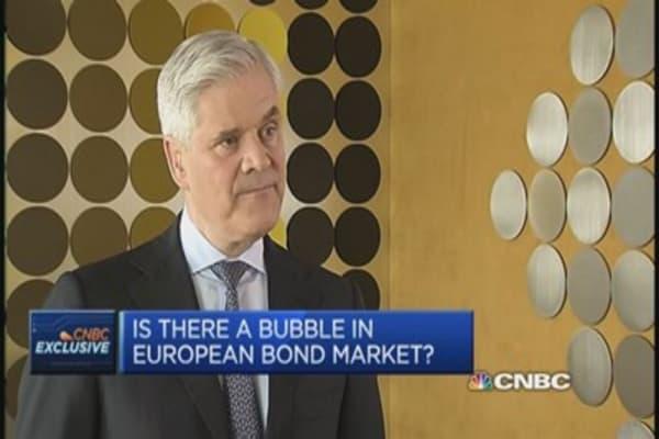 Dombret: Not worried about EU bond bubble