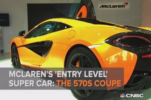 $185K for this entry level super-car