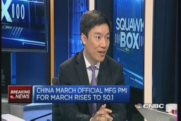 China March official PMI isn't strong: Pro