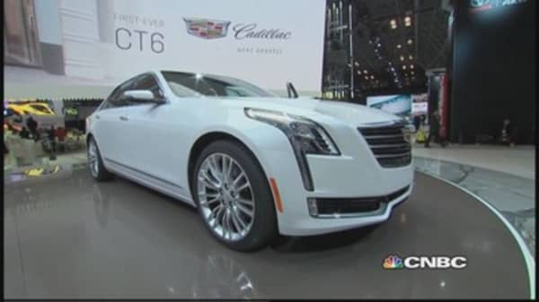 GM unveils all-new Cadillac CT6