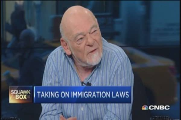 Taking on ecology of immigration: Sam Zell