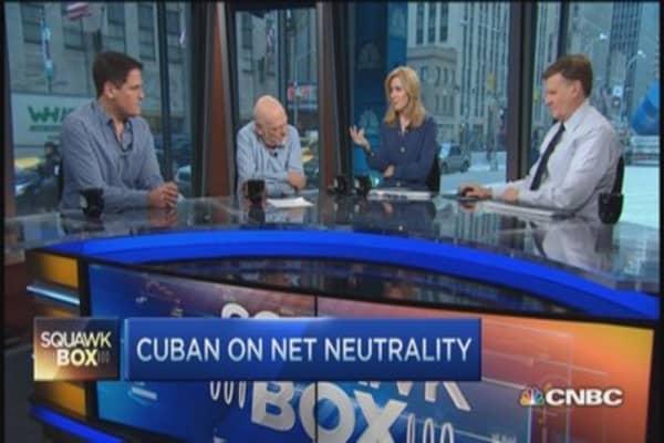 Net neutrality 'jump ball': Mark Cuban