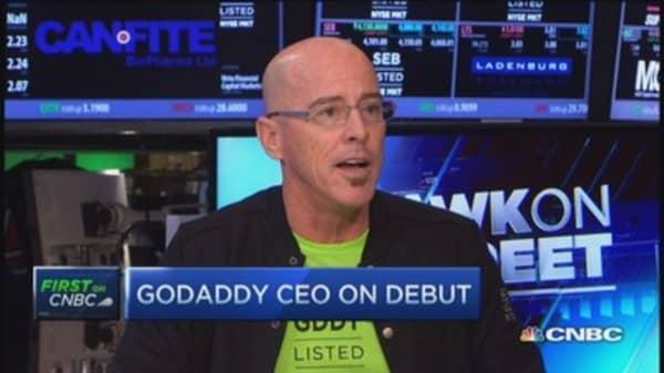 GoDaddy CEO: Small businesses need digital presence