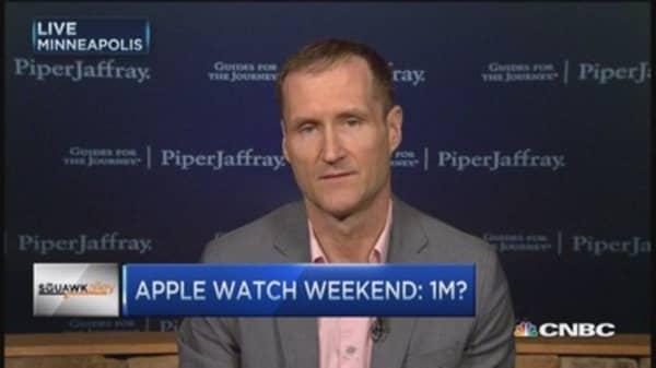Apple Watch opening weekend: 1 million?