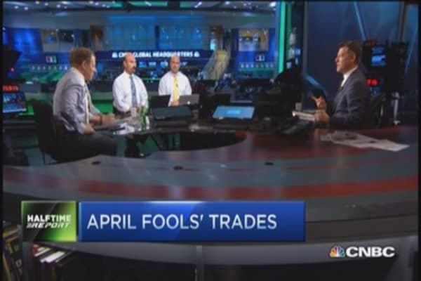 April Fool's trades: Shake Shack, Delta & more