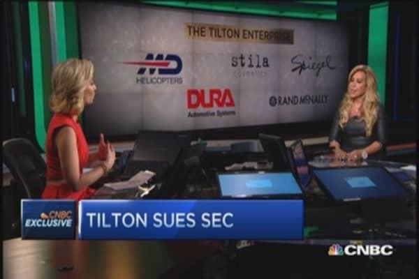Lynn Tilton: SEC mischaracterized word 'valuation'