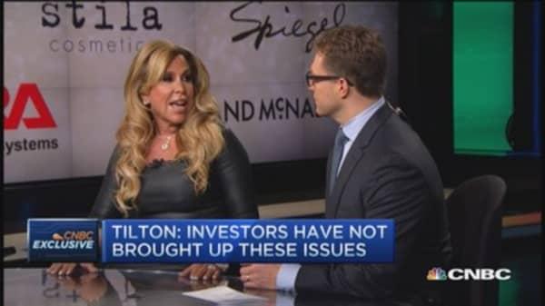 Lynn Tilton: I am equity holder of all funds