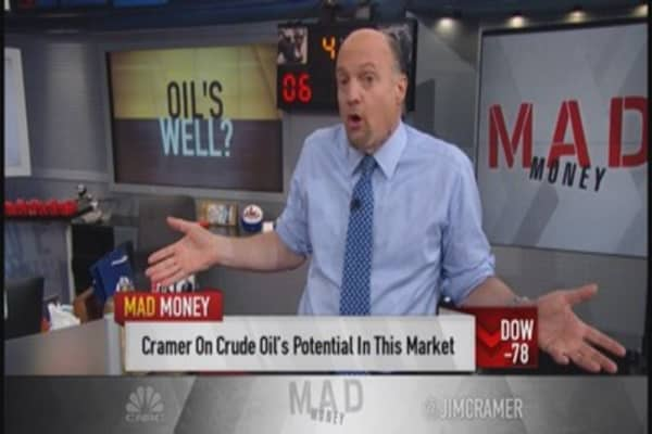 Resilience in oil duly noted: Cramer