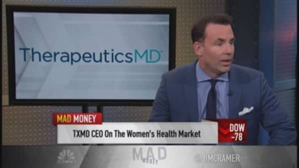 TherapeuticsMD CEO: Targeting women's health
