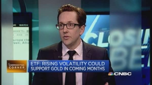 Gold: Is volatility its only appeal?