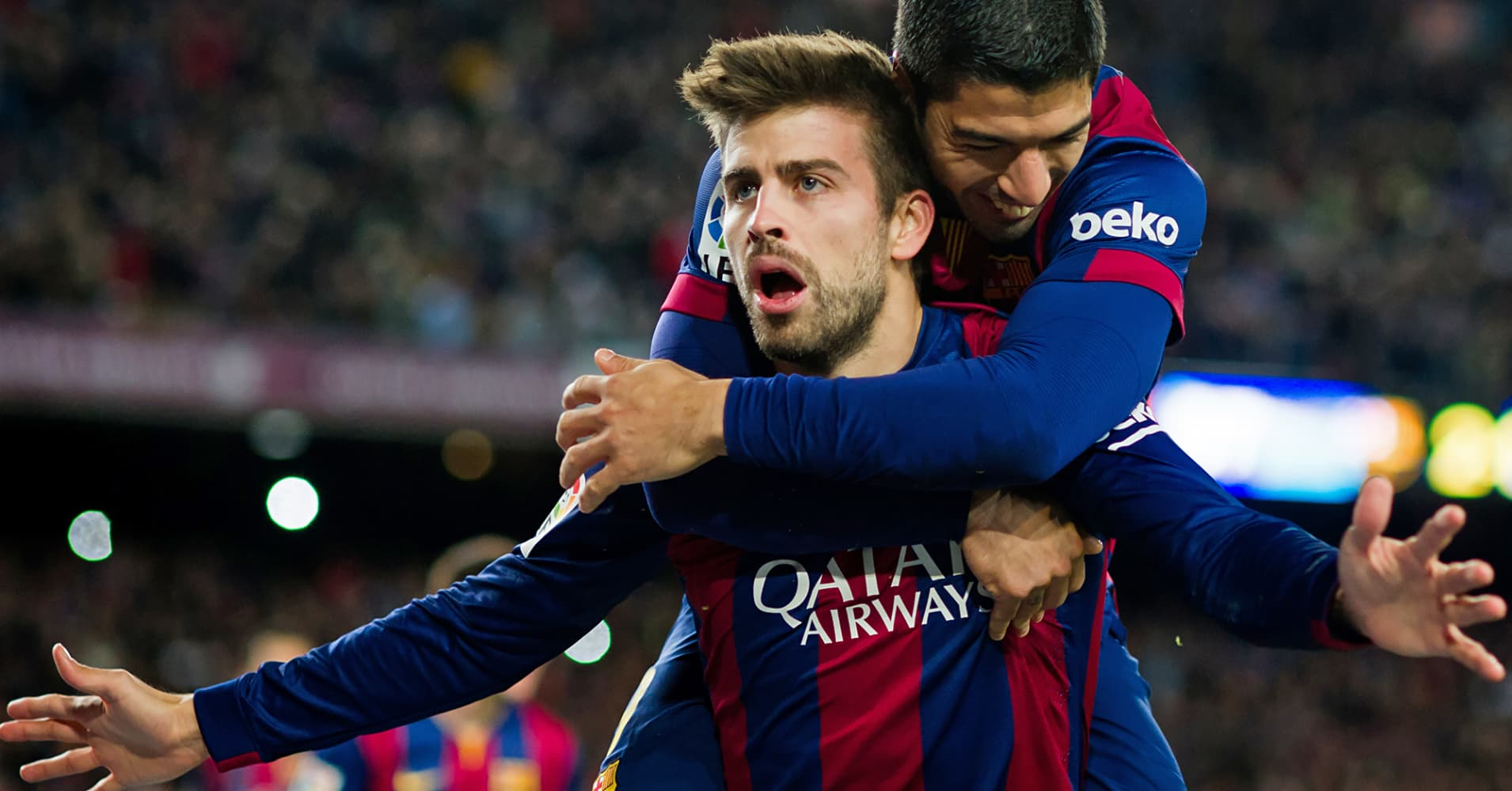 Gerard Piqué Soccer star and video game creator