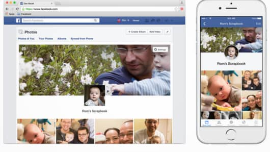 Facebook launches Facebook Scrapbook.