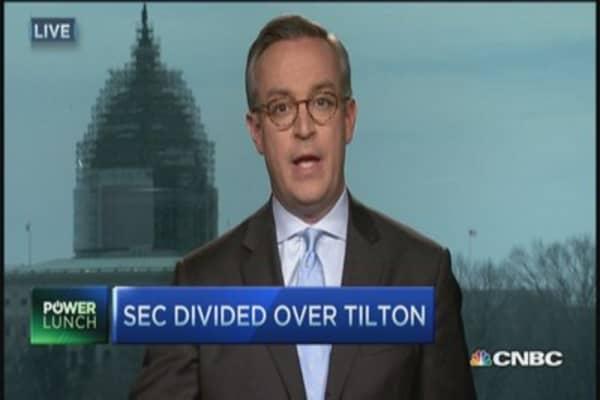 Tilton a trophy for SEC