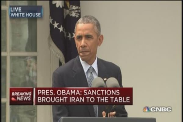 Pres. Obama: A final deal would make world safer