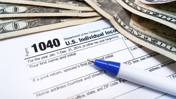 taxes IRS tax money dollars
