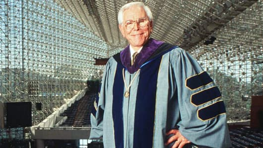 Robert Schuller in Crystal Cathedral