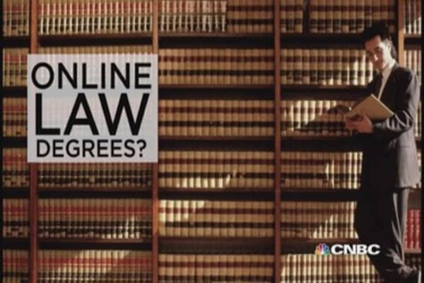 Obtain your law degree ... online?