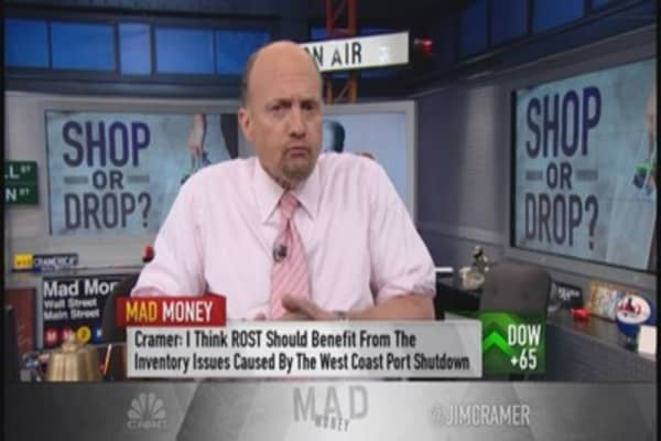 Same-store sales trend your friend: Cramer