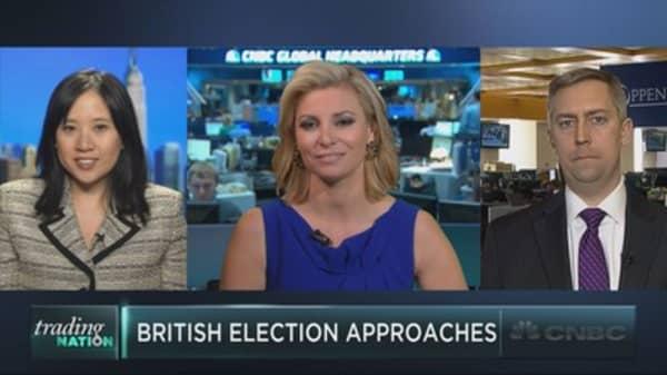 Profiting off the British election