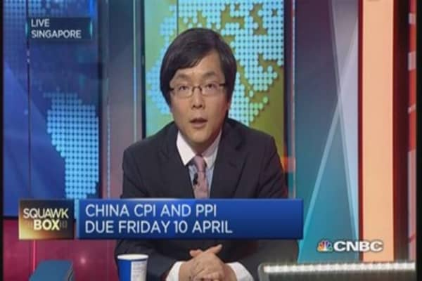 China inflation to stabilize in March: OCBC