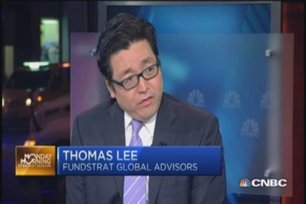 Poor economic data 'temporary': Thomas Lee