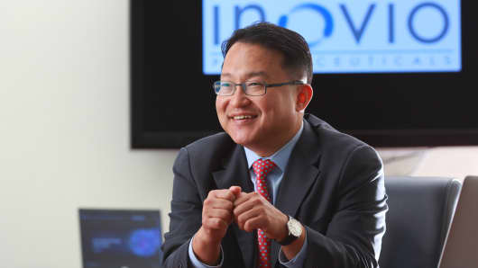 Dr. Joseph Kim, founder of Inovio Pharmaceuticals