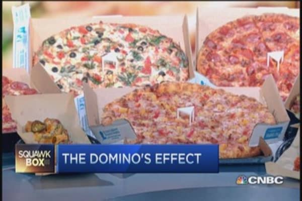 Domino's Pizza high-tech effect: CEO