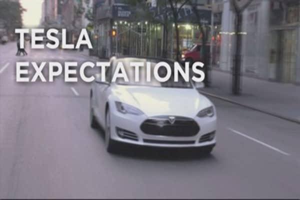 Tesla sales revving up