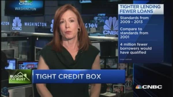 Credit becomes increasingly tight