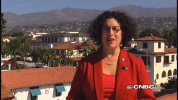 Santa Barbara Mayor: 'Worst drought in history'