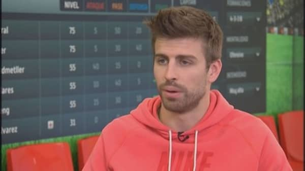 Gerard Piqué: Soccer star & video game entrepreneur