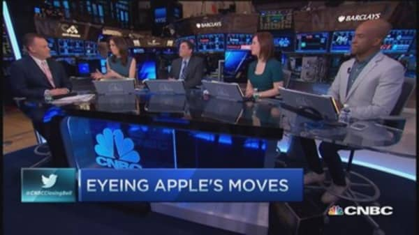 Eyeing Apple's moves