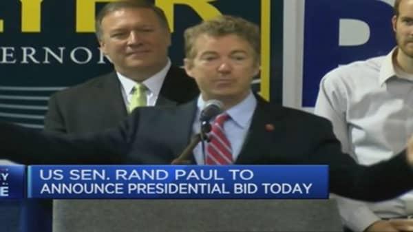 Rand Paul to announce presidential bid