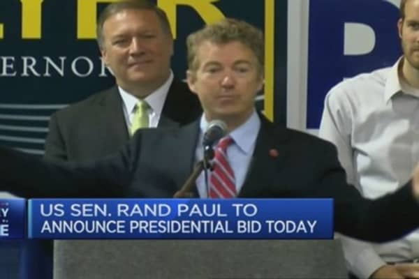 Rand Paul to announce presidential bid