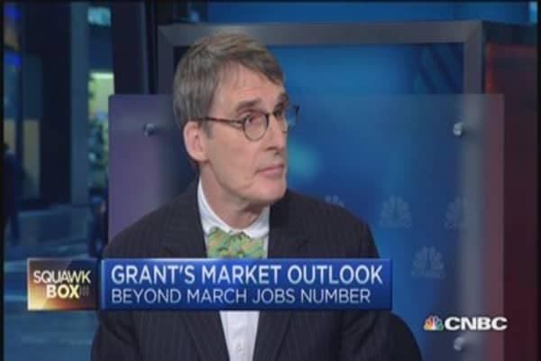 Jim Grant: Allow markets to determine short-term rates