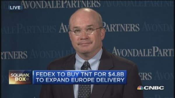 FedEx to buy rival TNT Express for $4.8 billion