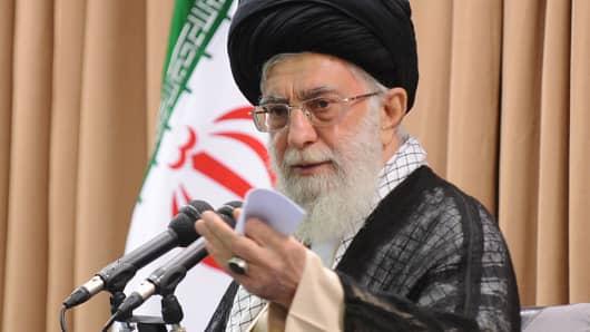 Supreme Leader of Iran Ayatollah Ali Khamenei