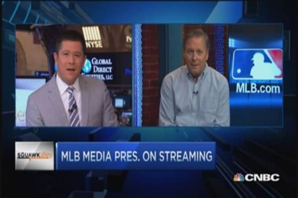 MLB friend of tech; Error on WSJ: Media Pres.