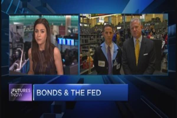 Sell bonds ahead of the Fed